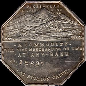 "Lesher Dollar: Zerbe #4 ""Bank Type"""